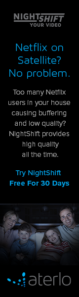 NightShift Netflix on Satellite